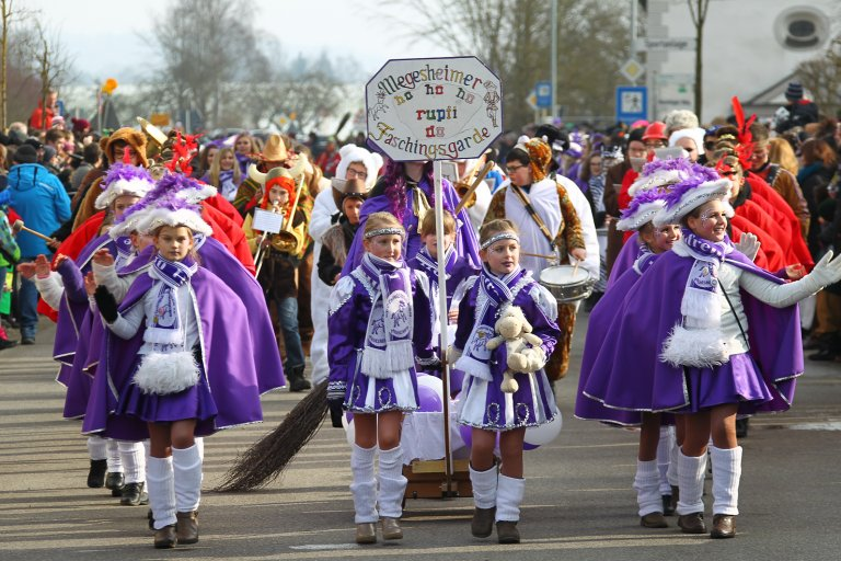 Fasching in Megesheim